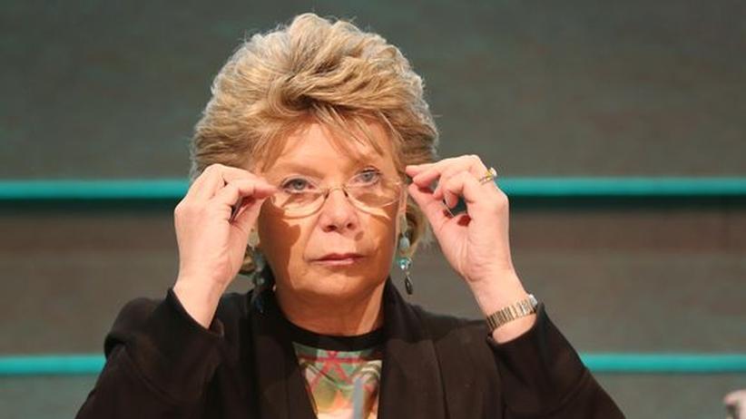 Verfassungsreform: EU-Kommissarin Viviane Reding (Archiv)