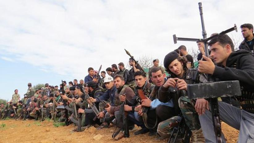Bürgerkrieg : CIA unterstützt offenbar Waffenlieferungen an syrische Rebellen
