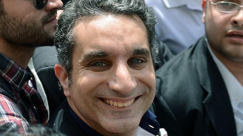Pressefreiheit: Ägyptischer Satiriker kommt auf Kaution frei