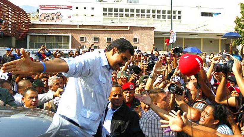 Venezuela: Kann Hugo Chávez' Nachfolger sich im Amt halten?