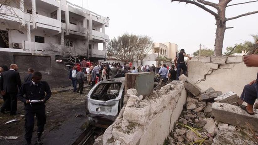 Terrorismus: Anschlag auf französische Botschaft in Tripolis