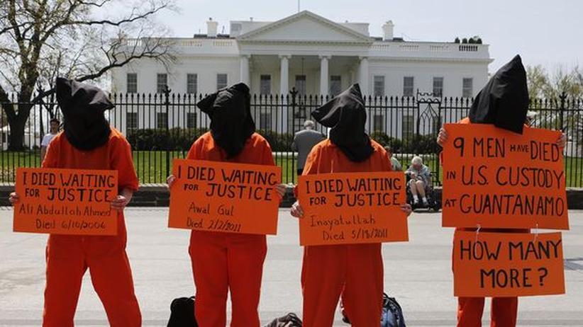 USA: Großer Appell an Obama für Guantánamo-Gefangene