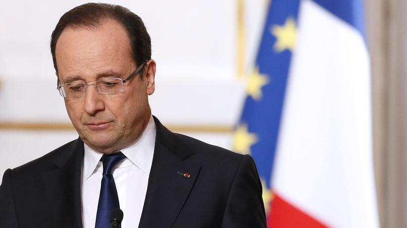 Fünfte Republik: Hollande in Not