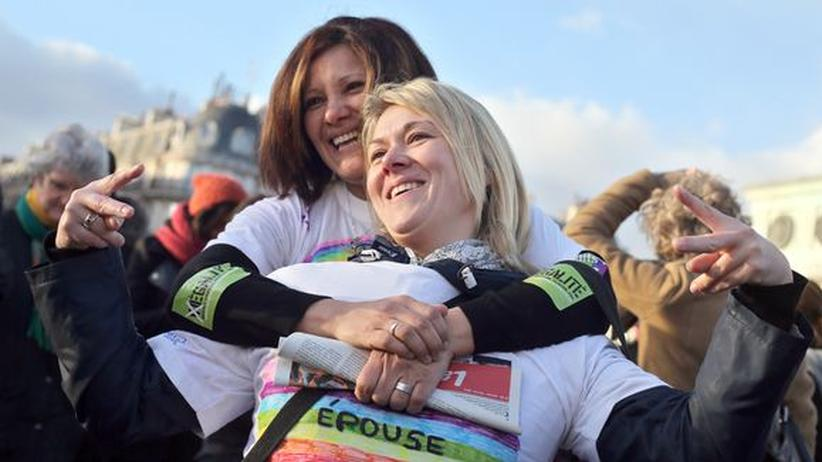 Homosexualität: Französischer Senat stimmt für Homo-Ehe
