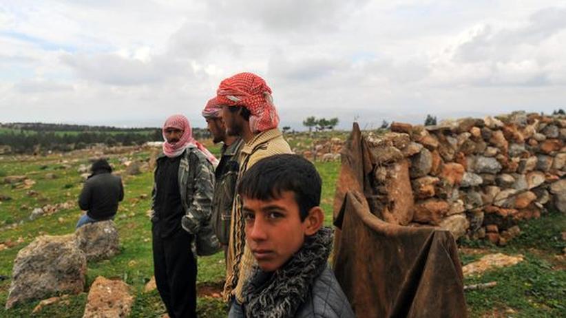 Bürgerkrieg: Ein Viertel aller Syrer auf der Flucht