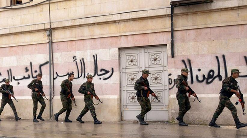 Syrienkrieg: Die Paten des Diktators