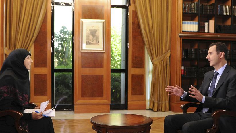 Syrien-Konflikt: Assad droht Israel