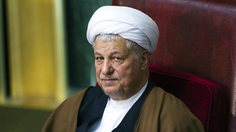 Irans Ex-Präsident Akbar Hashemi Rafsandschani
