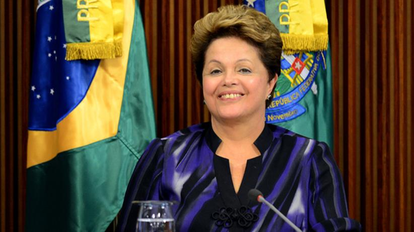 Brasilien: Brasiliens Staatschefin Dilma Rousseff