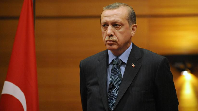 Proteste in der Türkei: Der türkische Regierungschef Recep Tayyip Erdoğan