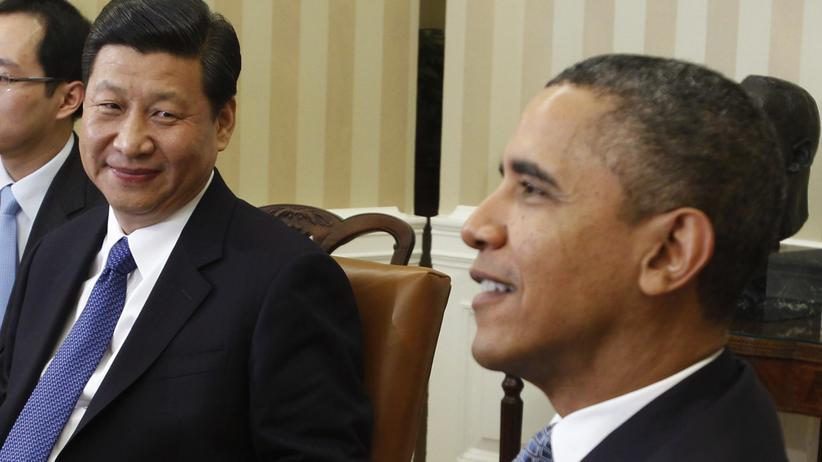 Obama und Xi: Aufsteiger trifft Platzhirsch