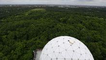 Ehemalige NSA-Abhörstation auf dem Teufelsberg in Berlin. Von dort belauschte der US-Geheimdienst früher den Warschauer Pakt