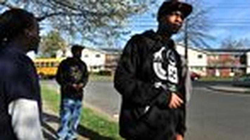 Rassismus in den USA: Junge Männer in Stratford, Connecticut