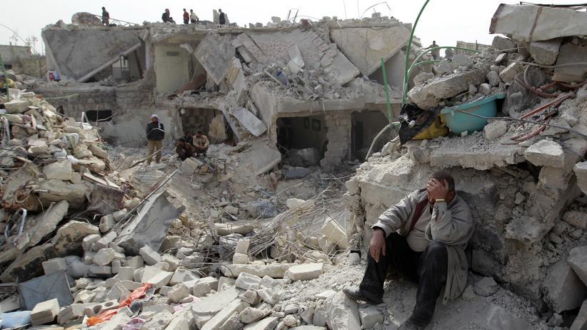 Syrien: Kriegsopfer in Aleppo