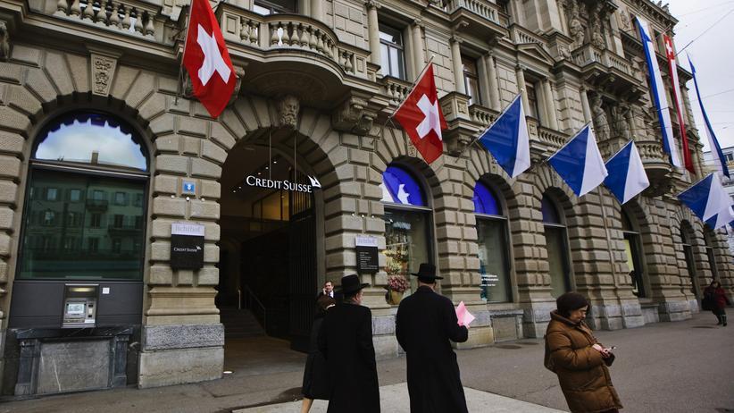 Steuerhinterziehung: Die Credit Suisse in Zürich
