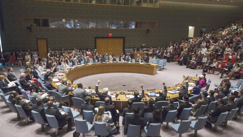 Syrien: Der UN-Sicherheitsrat in New York