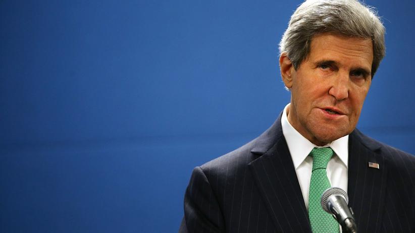 Atomprogramm: US-Außenminister John Kerry am 25. September in New York.