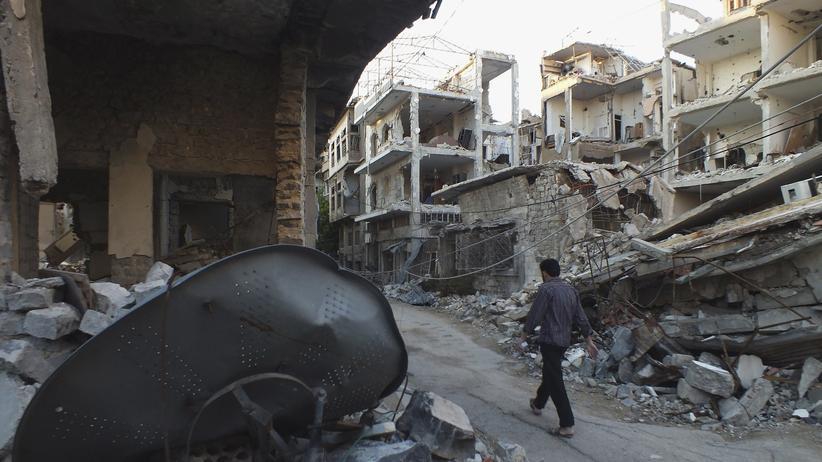 """Syrien: """"Ihr müsst keine Truppen schicken!"""""""