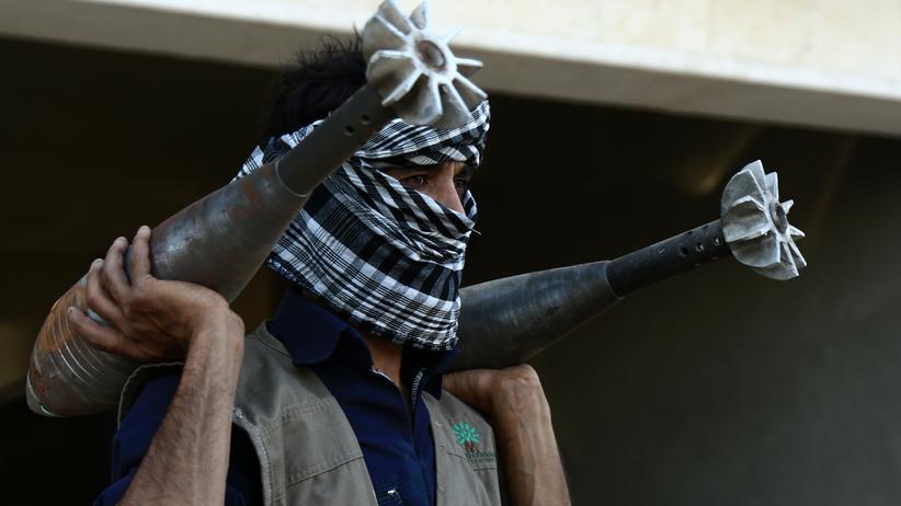 Syrische Chemiewaffen: Gewaltiges Abrüstungsprojekt mitten im Bürgerkrieg