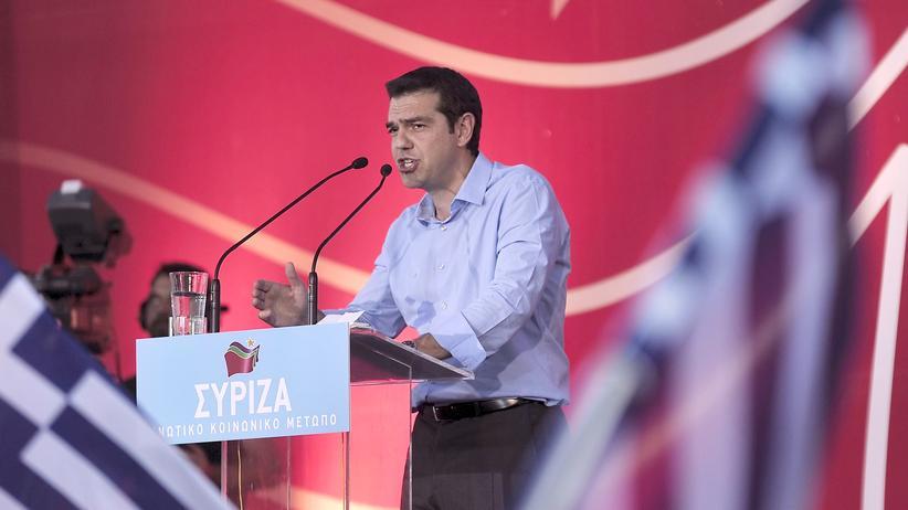 Zwangsanleihe: Alexis Tsipras, der Vorsitzende des griechischen Linksbündnisses Syriza
