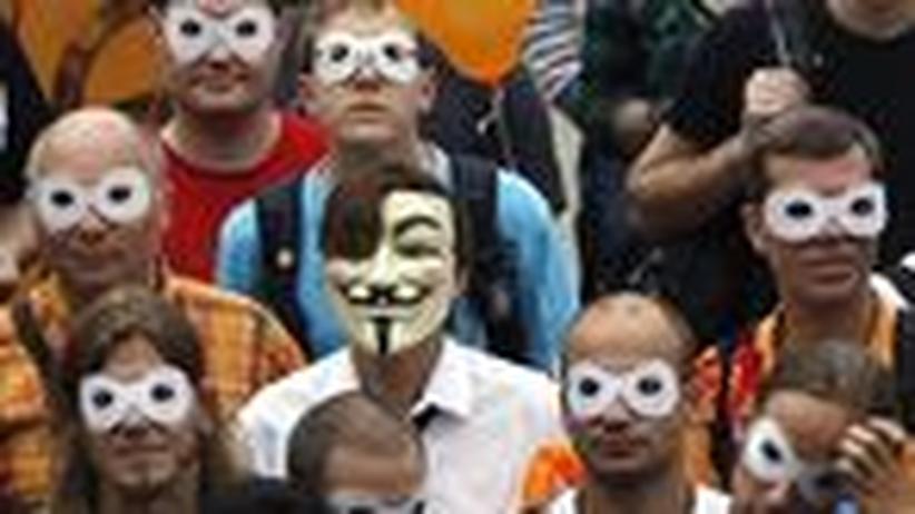 Datenschutzreform: Eine Demonstration für den Schutz privater Daten in Berlin (Archivbild)