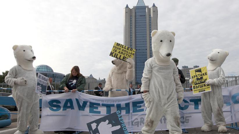 Inhaftierte Greenpeace-Aktivisten: Wie Polarbären zu Rowdies werden