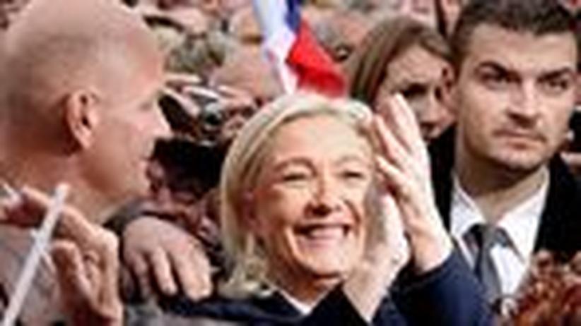 Frankreich: Niemand hält Marine Le Pen auf