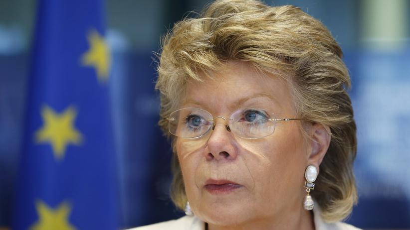 """Viviane Reding: """"Wir brauchen deutsche Stärke"""""""