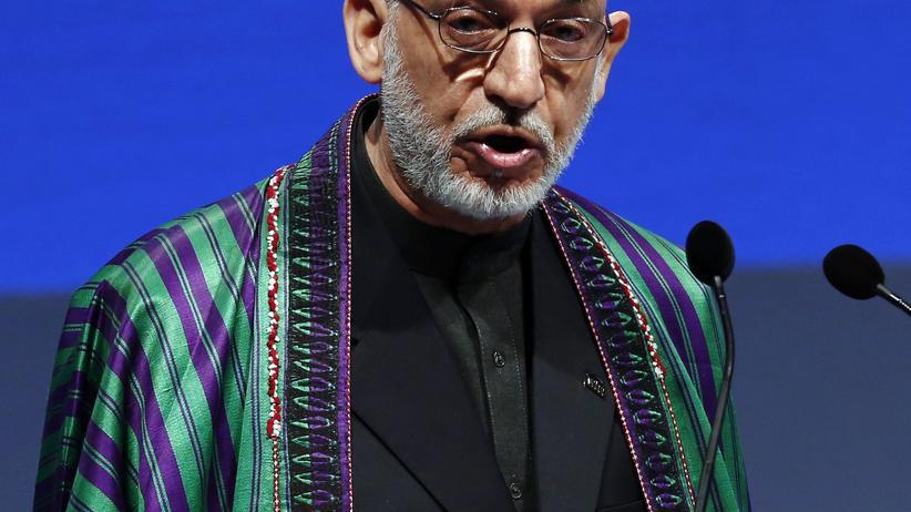 Afghanistan: Afghanistans Präsident Hamid Karsai