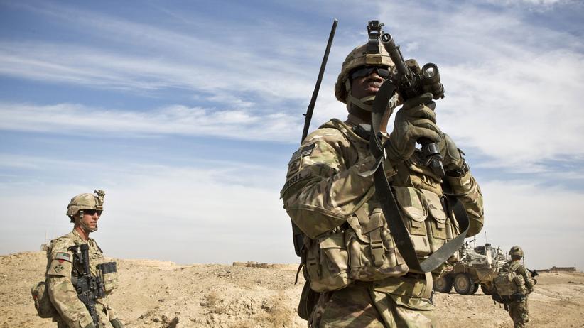 Rüstung: US-Soldaten in Afghanistan