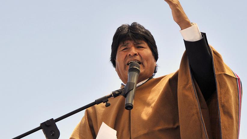Bolivien: Boliviens Präsident Evo Morales