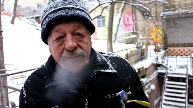 Der 76-Jährige Mykola Matusevych