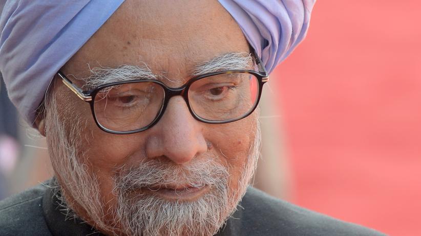 Manmohan Singh: Indiens Premier kündigt Rückzug an