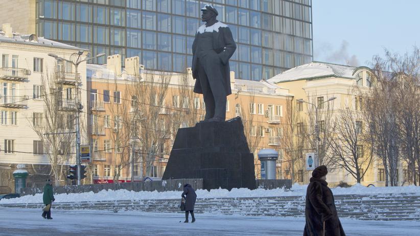 Ukraine: Ein Land wie zwei Klumpen