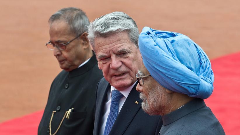 Indien-Reise: Gauck rügt Diskriminierung von Frauen und Homosexuellen in Indien