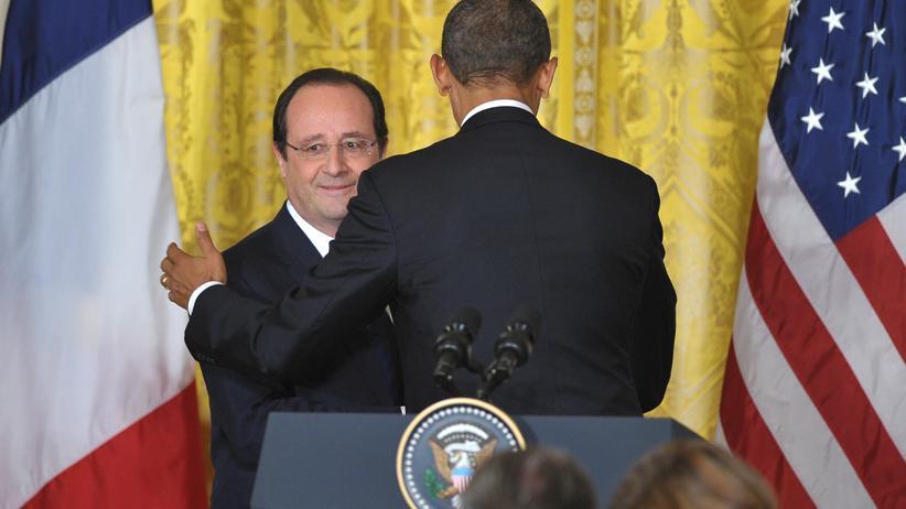 Ukraine-Krise: US-Präsident Barack Obama und François Hollande (Archiv)