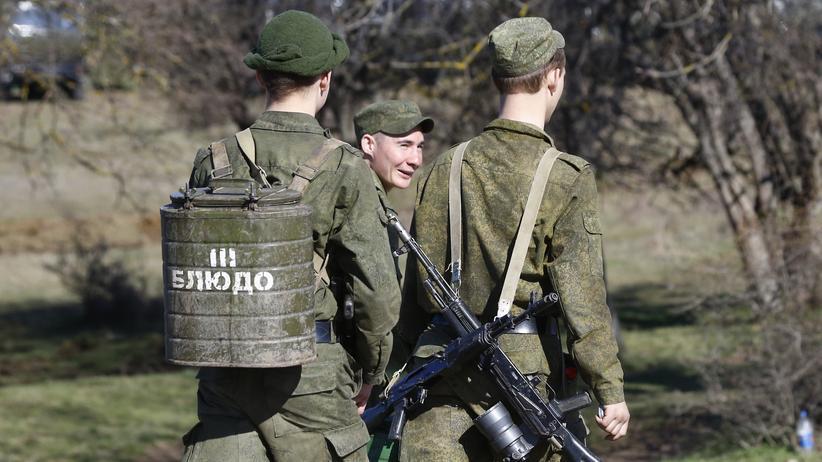 Krimkrise: Rumballern mit Russen