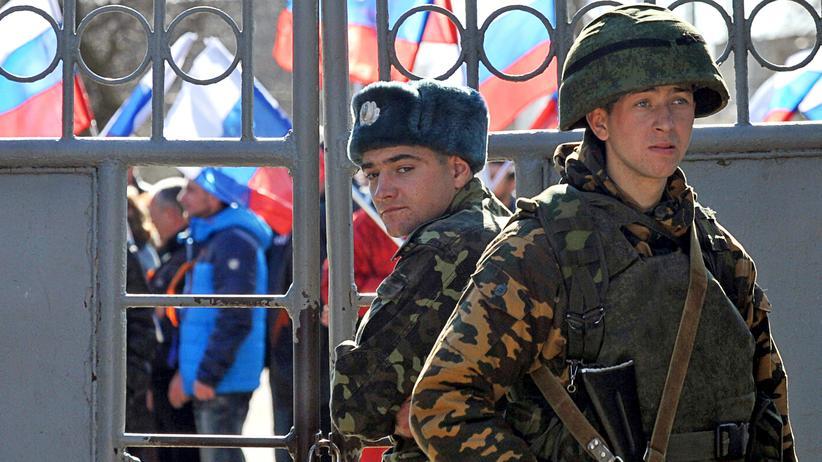 Krim-Konflikt: Kein Krieg, aber ein Feuer