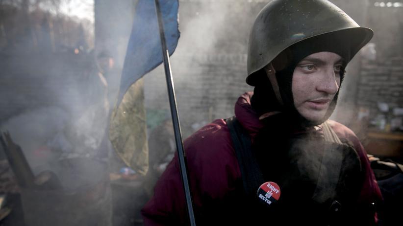 Ukraine Donezk Rechter Sektor
