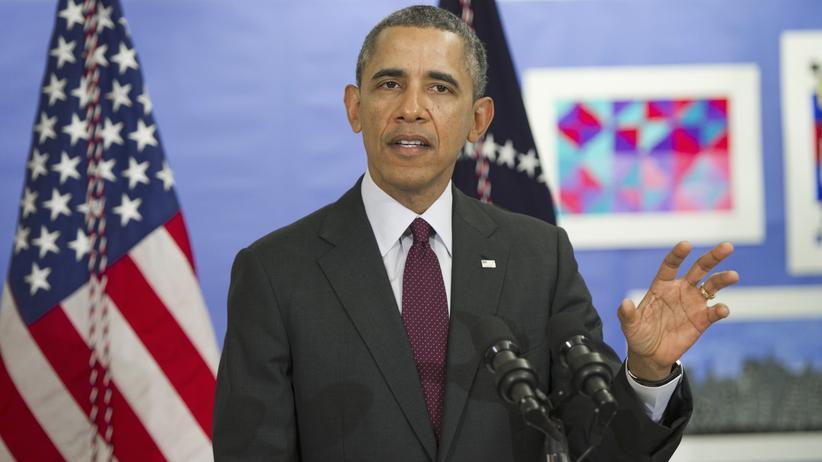 Krim-Krise: US-Präsident Barack Obama