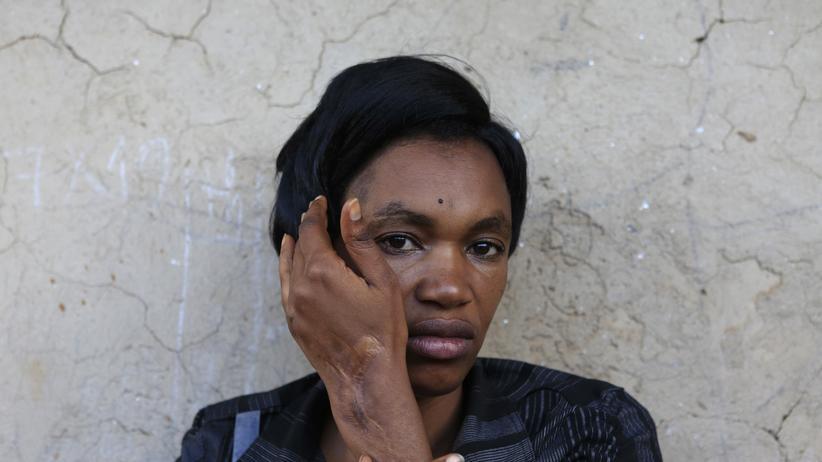 Völkermord: Mudahogora Ernestine, 34, hat als Einzige in ihrer Familie den Massenmord in Ruanda 1994 überlebt.