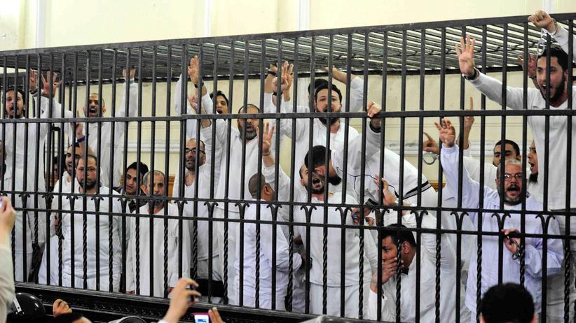 Muslimbrüder: Angehörige der Muslimbruderschaft vor Gericht in Alexandria