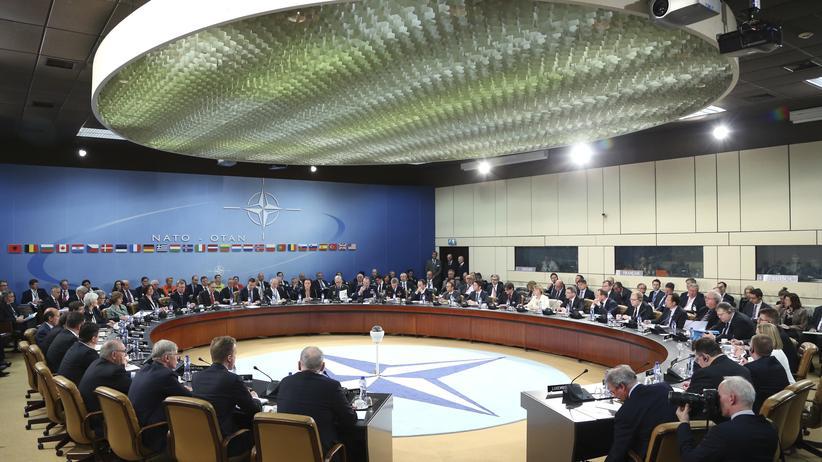 Krim-Krise: Ein Treffen der Nato-Außenminister in Brüssel