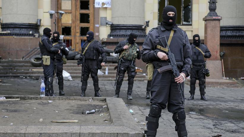 Ukraine: Ukrainische Spezialeinheiten