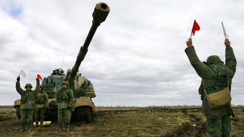 Nato: Rasmussen warnt Russland vor Einmarsch in Ost-Ukraine