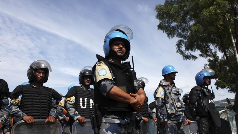 Südsudan: Soldaten der UN-Friedensmission im Südsudan