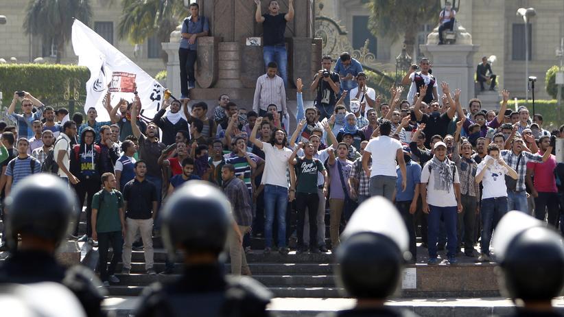 Ägypten Mursi-Anhänger Festnahme