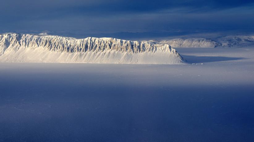Russland und der Westen: Schutz vor dem Klimawandel: die Insel Ellesmere in der kanadischen Arktis