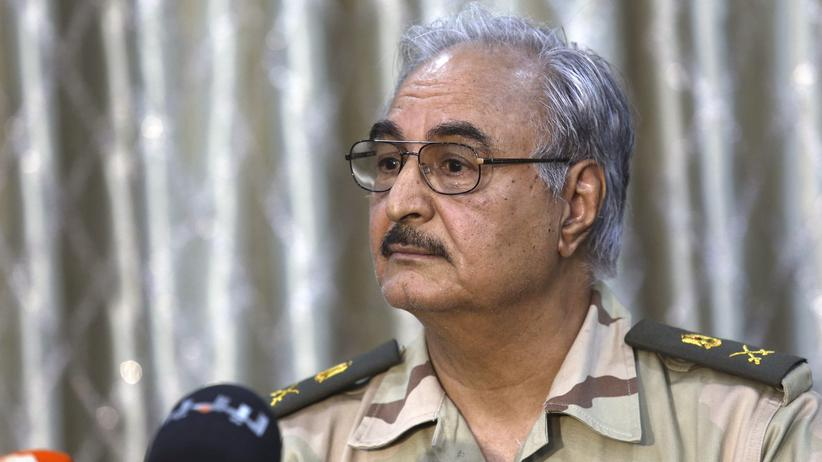 Libyen: Ex-General Chalifa Haftar