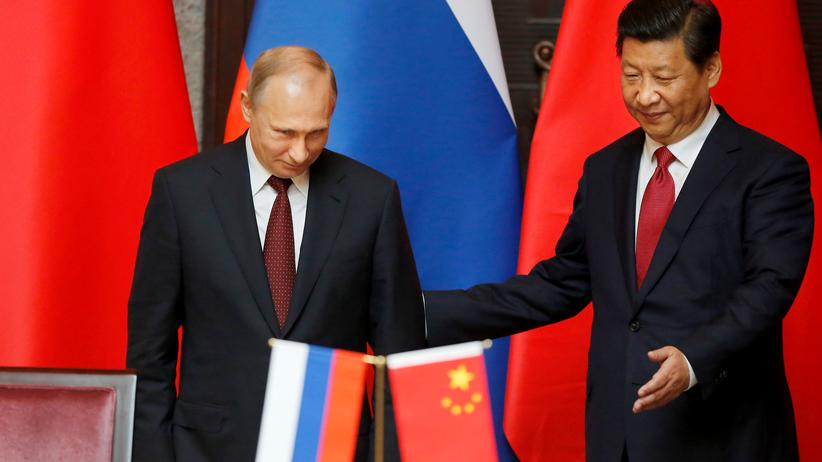 Gazprom: Wladimir Putin (L) und der chinesische Präsident Xi Jinping